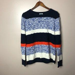 Old Navy Chevron Stitch Knit Sweater Size Medium